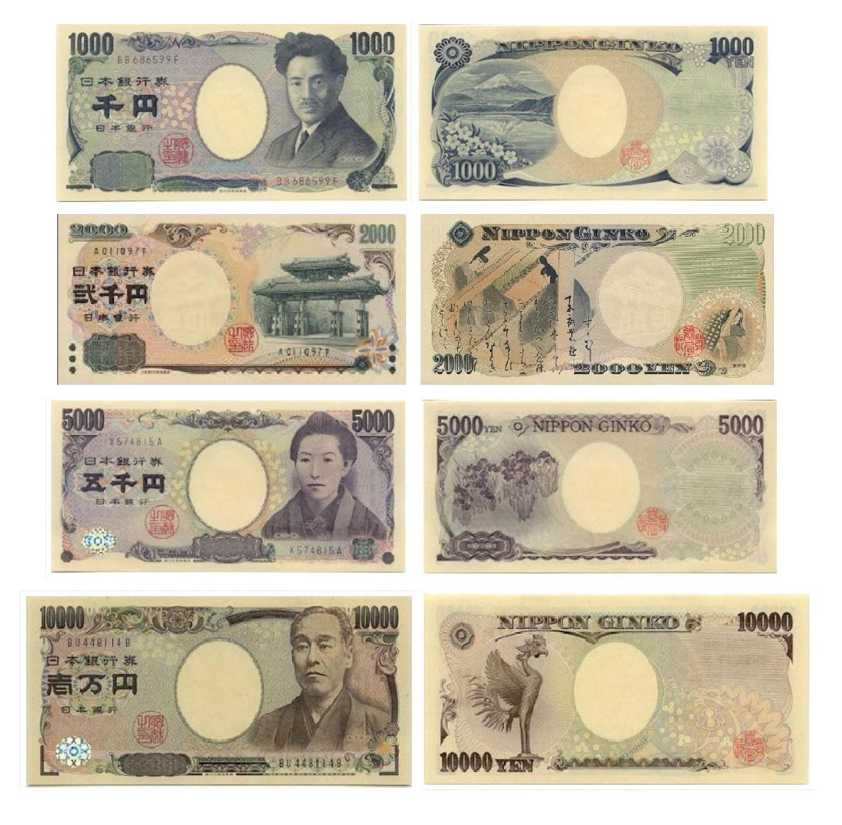 The Yen. Vola any japon
