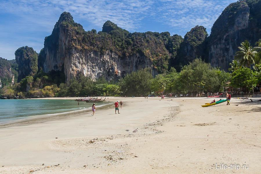 Пляж Рейли Уест (Railay West)