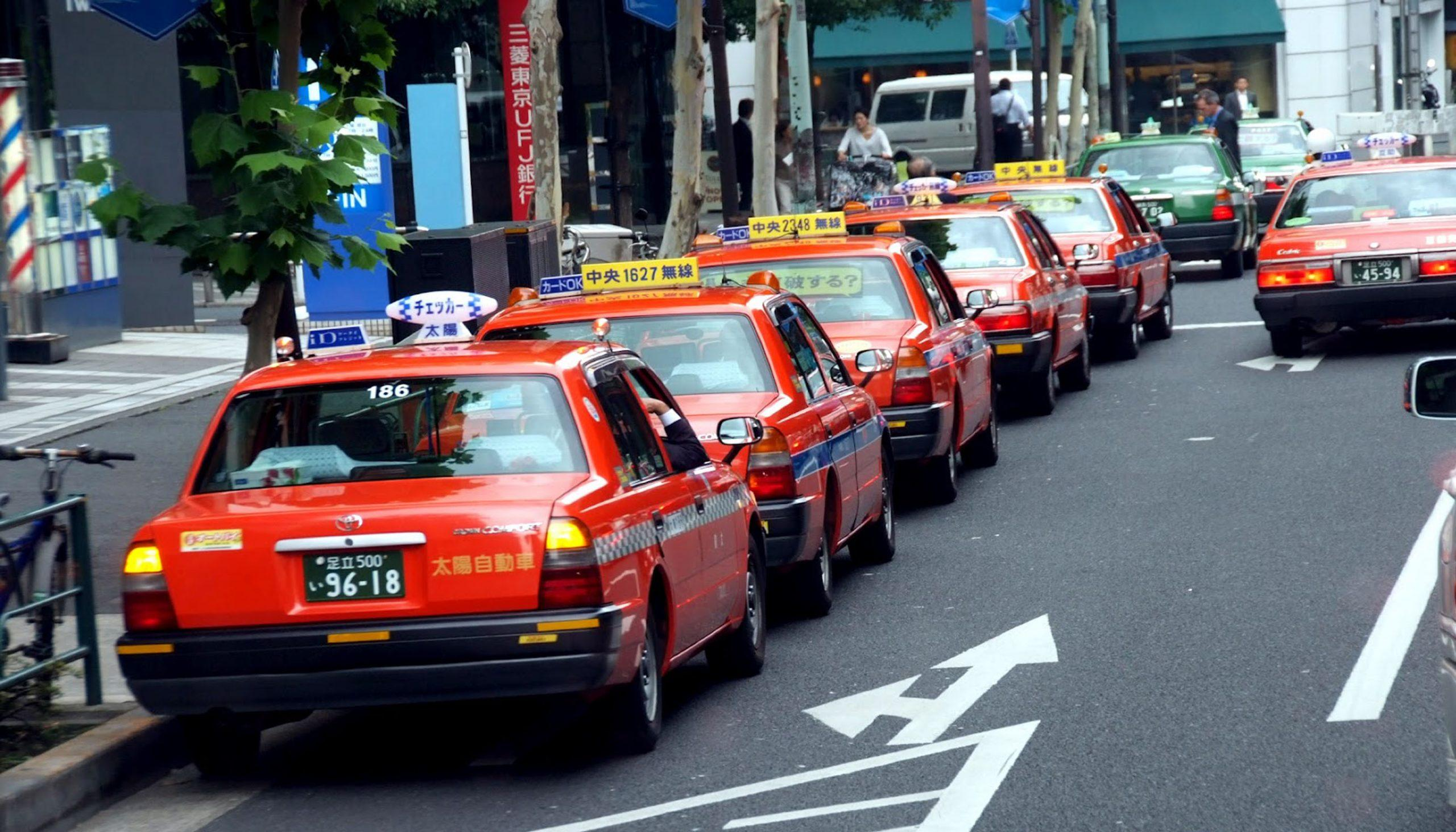 taxi Japonian