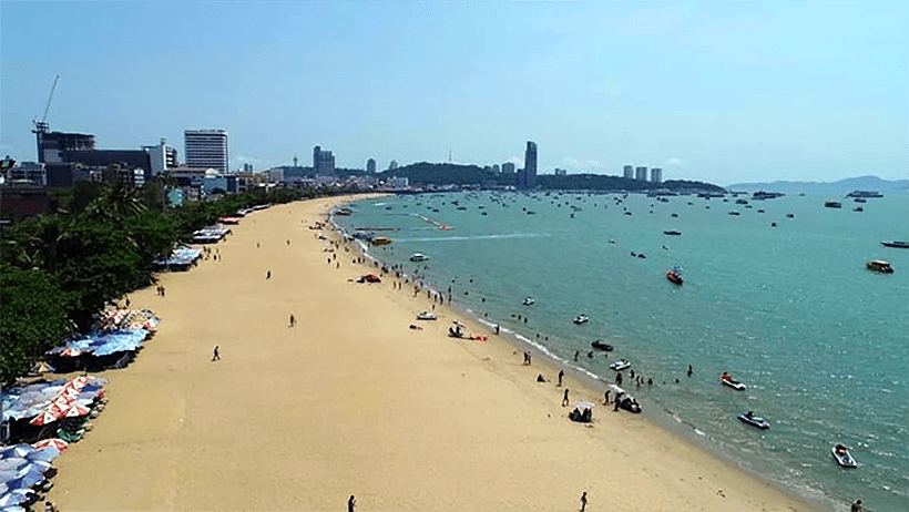 (Pattaya Beach) Пляж Паттайя Бич