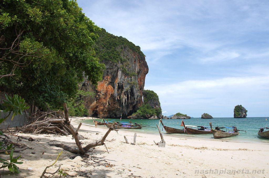 Railay Beach, Рейли-Бич. Краби