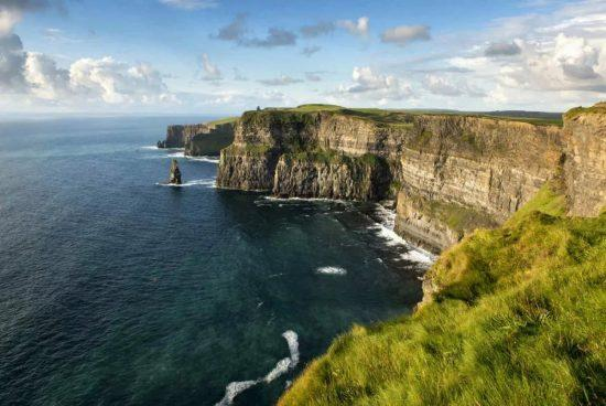 Irlandy. Cliffs of moher