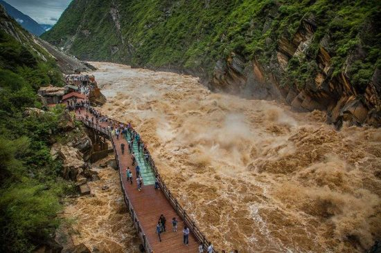 Tiger Leaping Gorge is one of the deepest gorges in the world