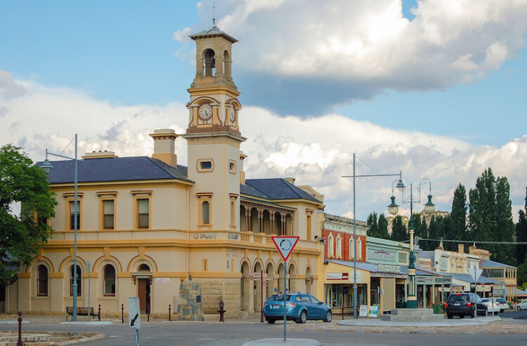 Город Бичворт. Виктория (Beechworth VIC)