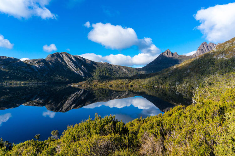 Национальный парк Крейдл-Маунтин-Лейк-Сент-Клер, (Cradle Mountain-Lake St Clair National Park). Австралия.