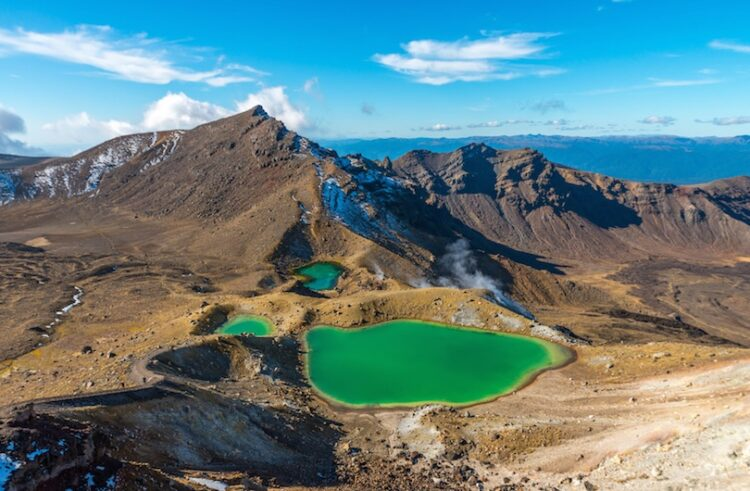 Национальный парк Тонгариро (Tongariro National Park)