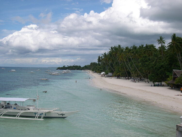 Пляж Алона, Панглао (Alona Beach, Panglao). Филиппины
