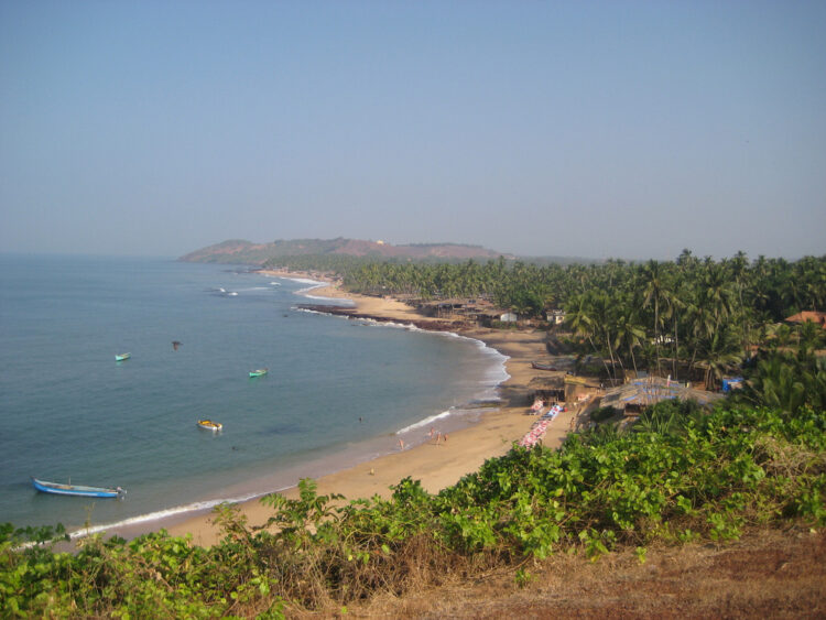 Пляж Анджуна. Гоа (Goa Beaches). Индия