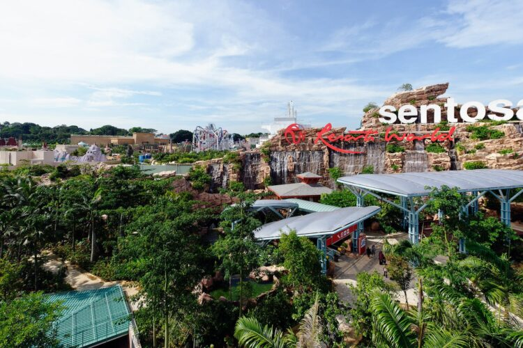 Resorts World Sentosa (Resorts World Sentosa) в Сингапуре